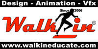 walk in educate logo